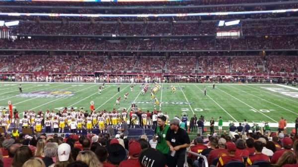 AT&T Stadium, secção: c109, fila: 19, lugar: 1