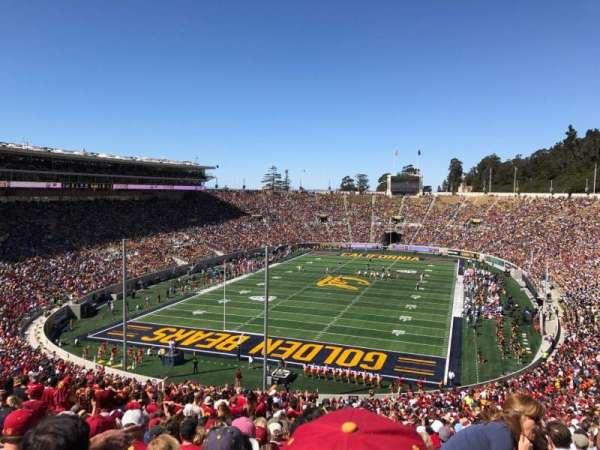 California Memorial Stadium, secção: N, fila: 74, lugar: 1