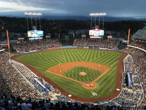 Dodger Stadium, secção: 5TD, fila: O, lugar: 13