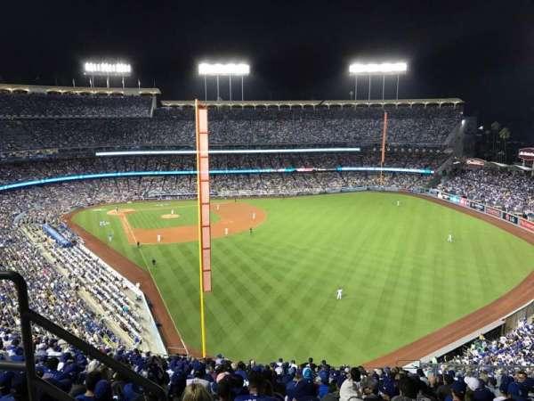 Dodger Stadium, secção: 58RS, fila: BB, lugar: 3