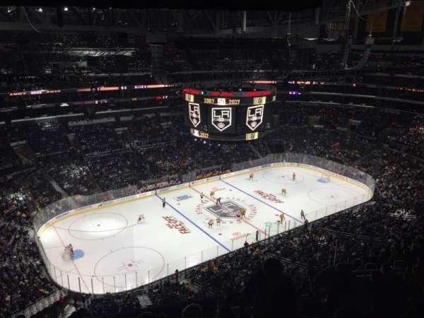 Staples Center, secção: 321, fila: 12, lugar: 13