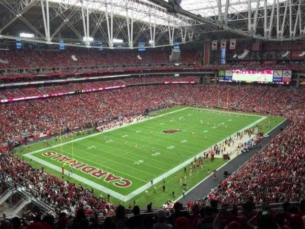 State Farm Stadium, secção: 453, fila: 9, lugar: 9