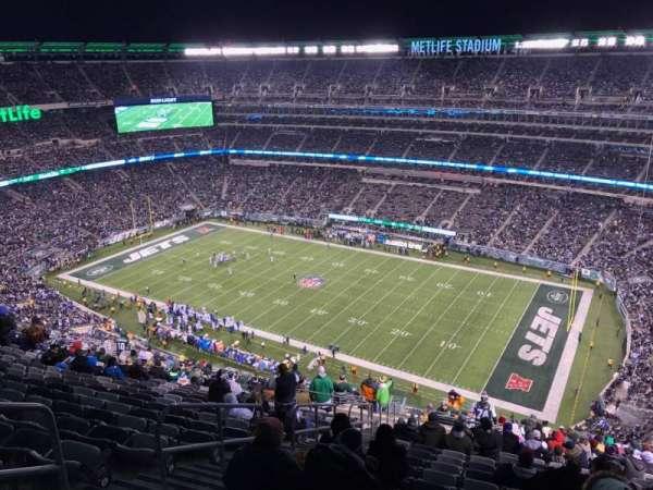 MetLife Stadium, secção: 334, fila: 26, lugar: 25