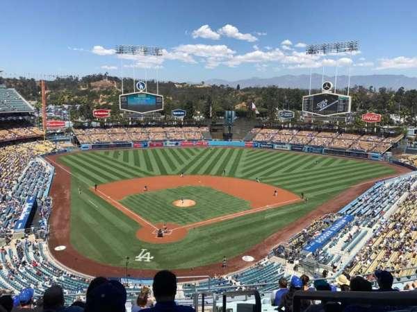 Dodger Stadium, secção: 2RS, fila: M, lugar: 22