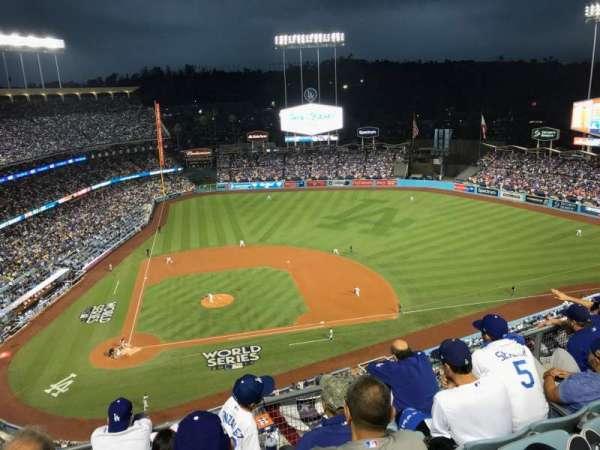 Dodger Stadium, secção: 12TD, fila: E, lugar: 5
