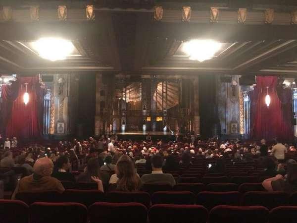 Hollywood Pantages Theatre, secção: Orchestra C, fila: VV, lugar: 111