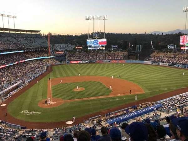 Dodger Stadium, secção: 8RS, fila: G, lugar: 10