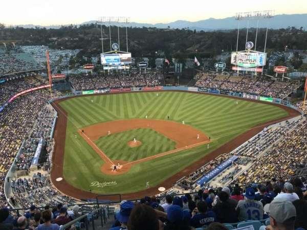 Dodger Stadium, secção: 6TD, fila: N, lugar: 1