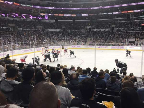 Staples Center, secção: 112, fila: 9, lugar: 10