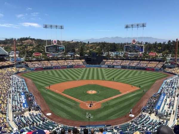 Dodger Stadium, secção: 1RS, fila: L, lugar: 7