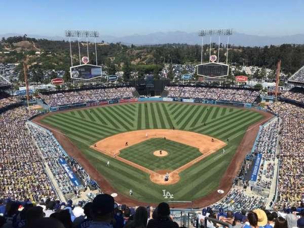 Dodger Stadium, secção: 3TD, fila: N, lugar: 1