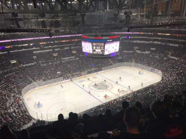 Staples Center, secção: 321, fila: 12, lugar: 16