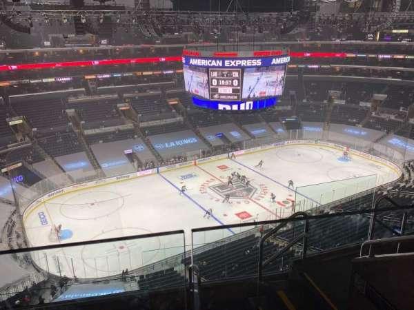 Staples Center, secção: 321, fila: 6, lugar: 5