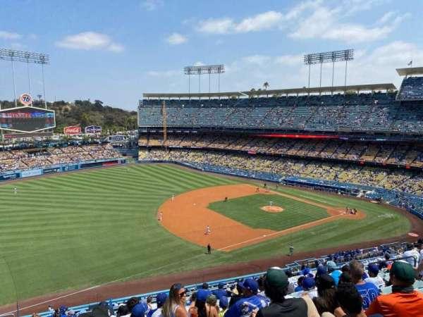 Dodger Stadium, secção: 31RS, fila: O, lugar: 18
