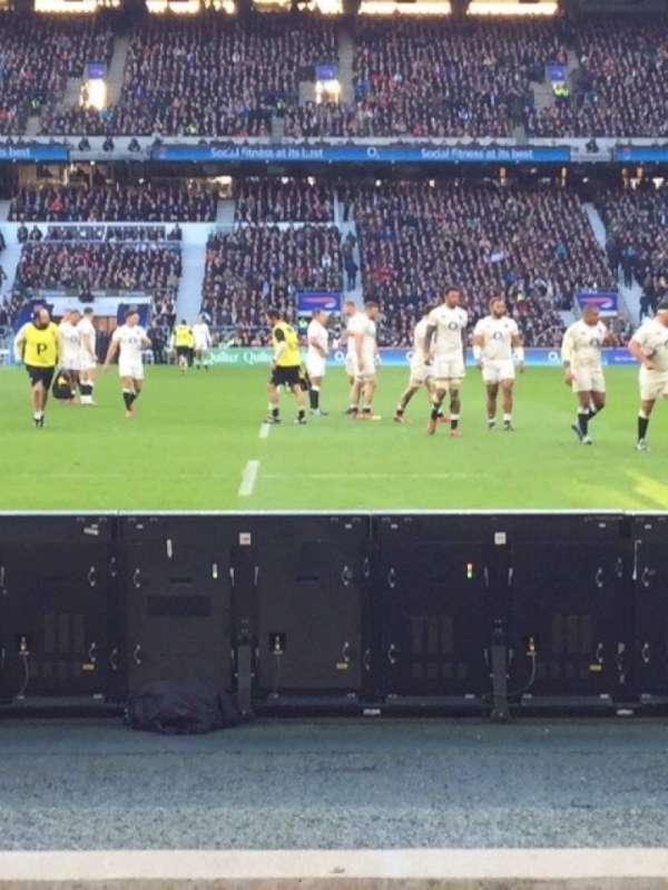 Twickenham Stadium, secção: L24, fila: 3, lugar: 184
