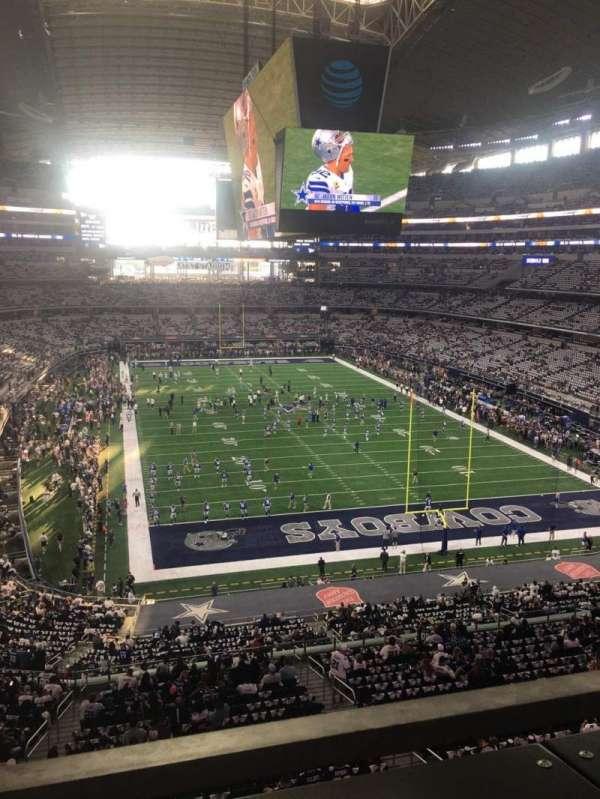AT&T Stadium, secção: 350, fila: 1, lugar: 8