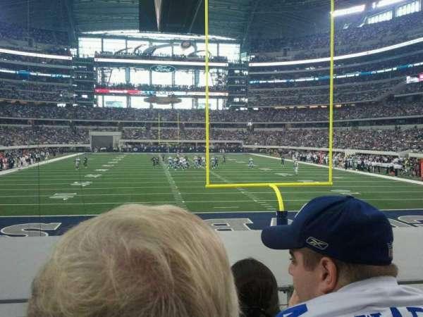 AT&T Stadium, secção: 123, fila: 10, lugar: 24