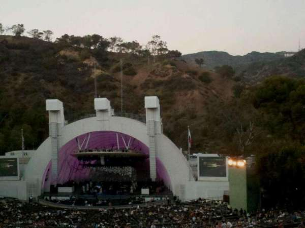 Hollywood Bowl, secção: M3, fila: 21, lugar: 18