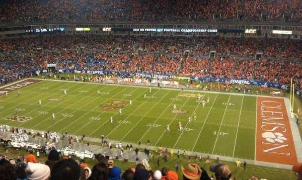 Bank of America Stadium, secção: 538, fila: 14, lugar: 20