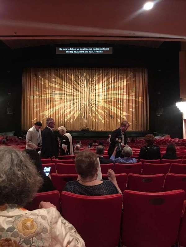 Dorothy Chandler Pavilion, secção: Orchestra, fila: X, lugar: 29