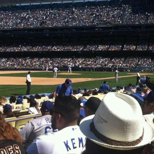 Dodger Stadium, secção: 37fd, fila: F, lugar: 3