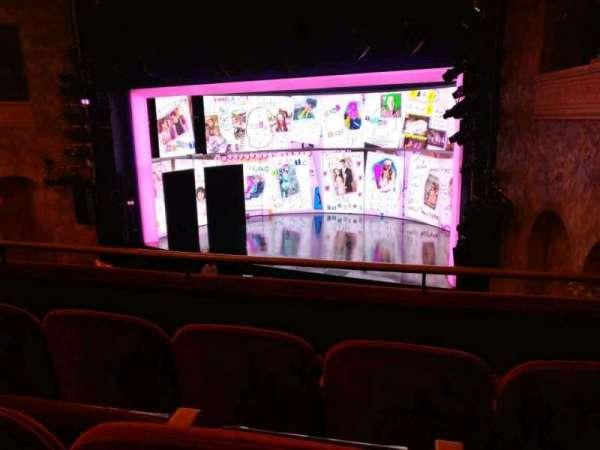 August Wilson Theatre, secção: Mezzanine R, fila: C, lugar: 16