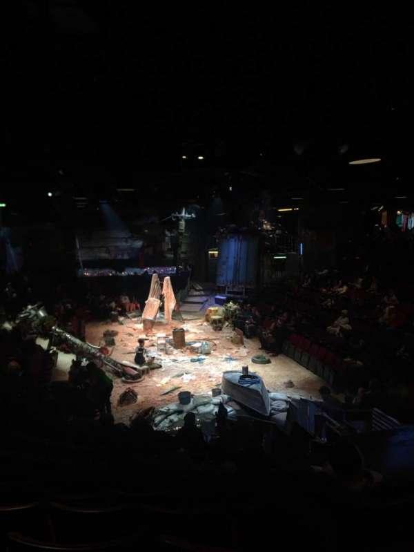 Circle in the Square Theatre, secção: Orch, fila: K, lugar: 111