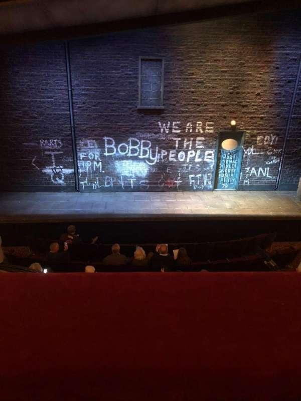 Bernard B. Jacobs Theatre, secção: Mezzanine C, fila: A, lugar: 109