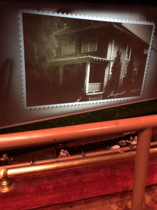 American Airlines Theatre, secção: Front Mezzanine, fila: A, lugar: 131