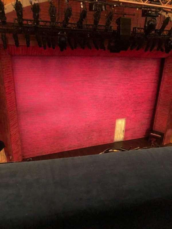 Shubert Theatre, secção: Balcony L, fila: A, lugar: 5