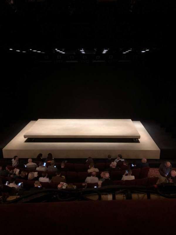 Ethel Barrymore Theatre, secção: Mezzanine, fila: A, lugar: 109