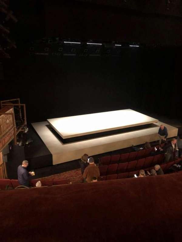 Ethel Barrymore Theatre, secção: Left Front Mezzanine, fila: A, lugar: 11