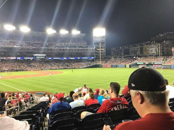 Nationals Park, secção: 137