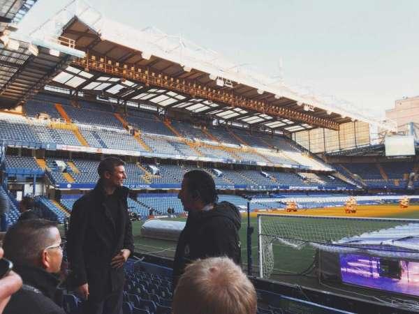 Stamford Bridge, secção: MATTHEW HARDING LOWER 12, fila: I, lugar: N/A