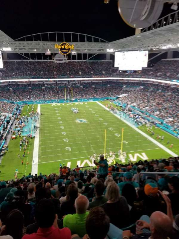 Hard Rock Stadium, secção: 333