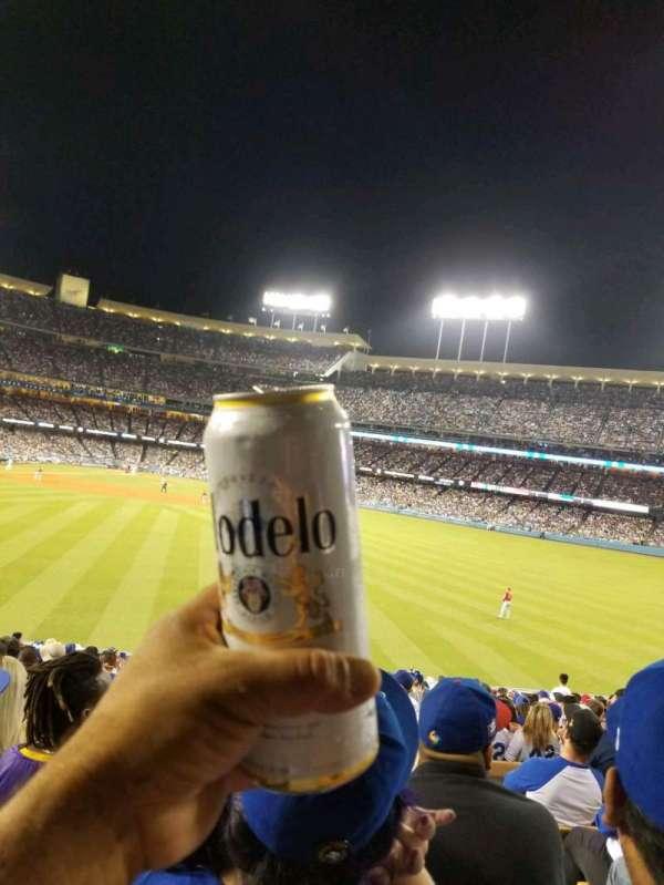 Dodger Stadium, secção: 310PL, fila: S, lugar: 20