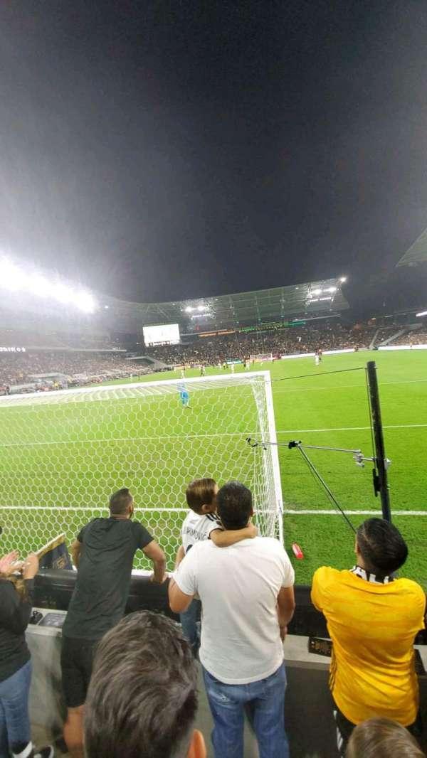 Banc of California Stadium, secção: 122, fila: C, lugar: 4