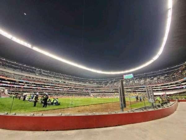 Estadio Azteca, secção: 126, fila: A, lugar: 20