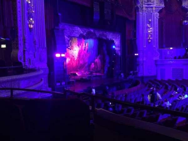James M. Nederlander Theatre, secção: Dress Circle L, fila: CC, lugar: 5