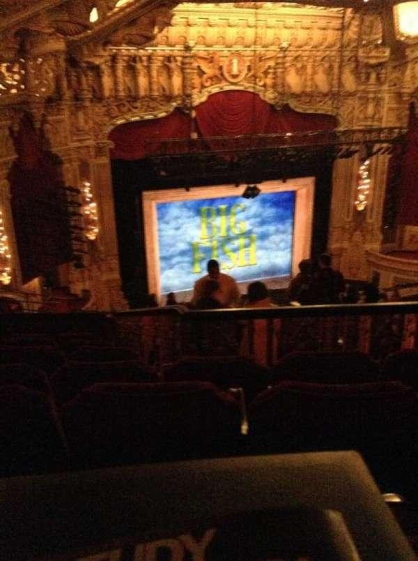 Nederlander Theatre (Chicago), secção: Balcony L, fila: T, lugar: 367