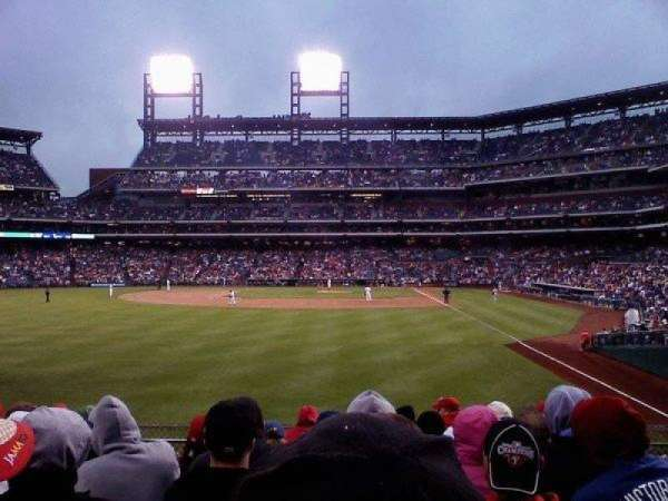 Citizens Bank Park, secção: 142