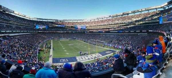 MetLife Stadium, secção: 229, fila: 4, lugar: 1