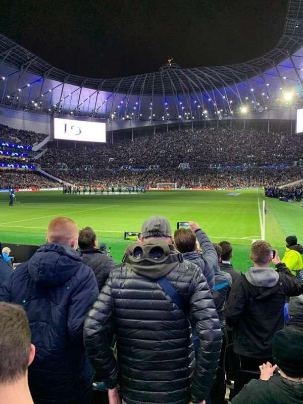 Tottenham Hotspur Stadium, secção: 110, fila: 7, lugar: 300