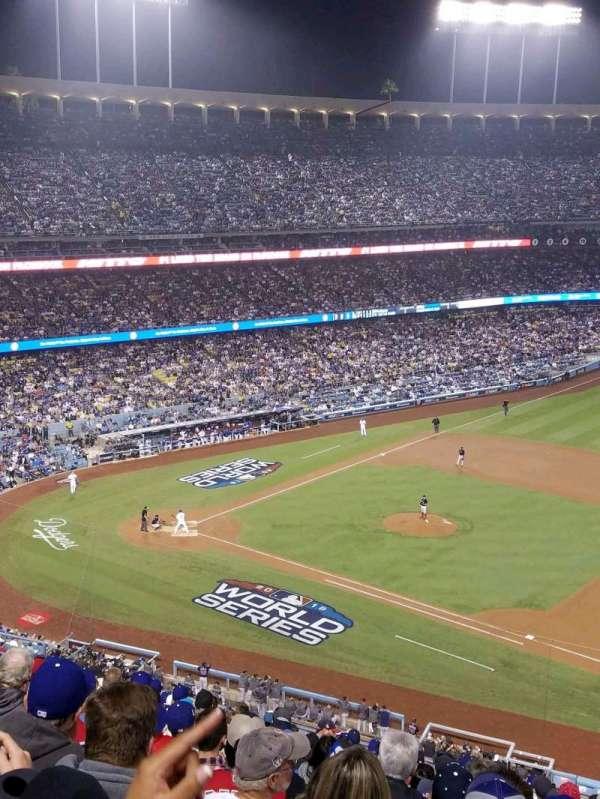 Dodger Stadium, secção: 24RS, fila: S, lugar: 21