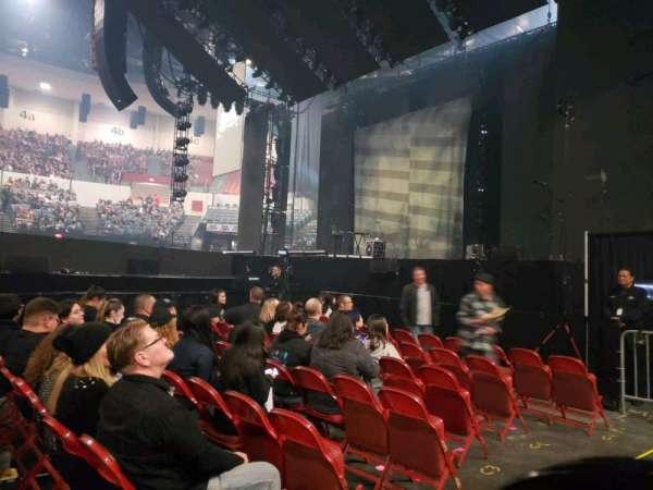 Pechanga Arena, secção: LL11, fila: 1, lugar: 7,8