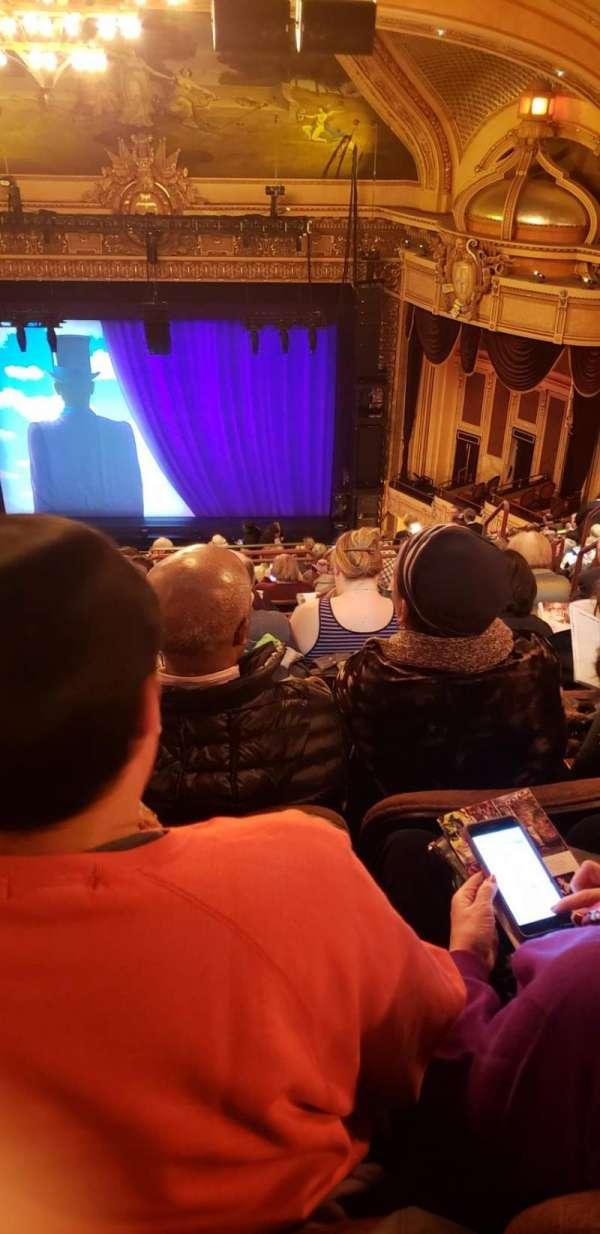 Hippodrome Theatre, secção: CUBAL, fila: U, lugar: 314