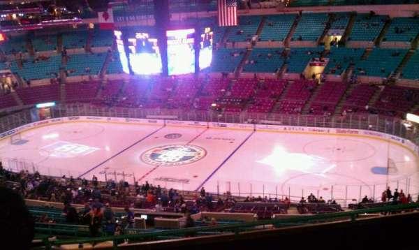 Madison Square Garden, secção: 420, fila: F, lugar: 4