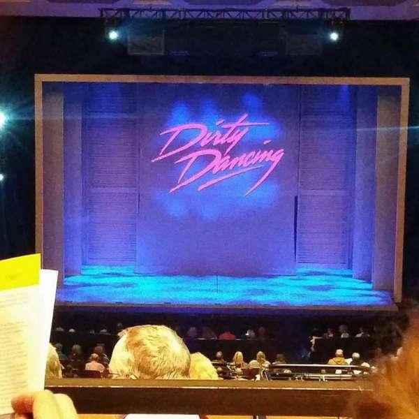 Keller Auditorium, secção: First Balcony, fila: B, lugar: 7