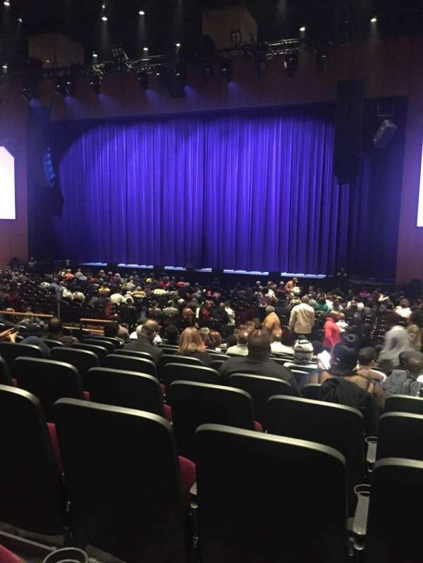 The Theater at MGM National Harbor, secção: 102, fila: L, lugar: 5