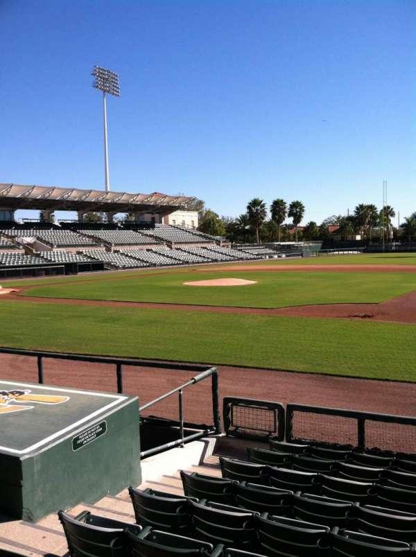 Ed Smith Stadium, secção: 106, fila: 8, lugar: 7